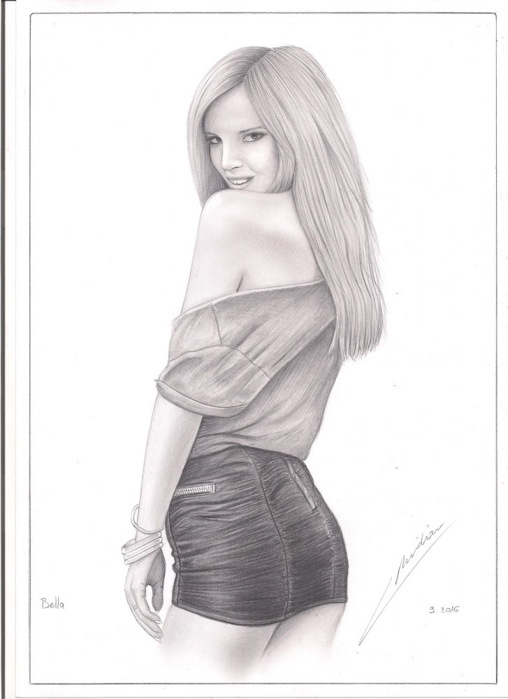 Bella Thorne by VincentMeridian